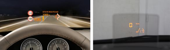 El Head Up Display de Peugeot, que estrenó en el 3008 y el 3l 5008, fue uno de los más aclamados por el sector. Karam el Shenawy.