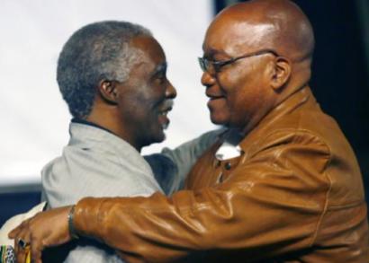 Mbeki y Zuma.