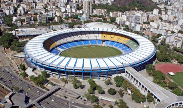 Maracaná albergará en 2014 por segunda ocasión en su historia la final de la Copa del Mundo de Fútbol. Ya lo hizo en 1950. De esta manera igualará a otro mítico estadio, el Azteca de México D.F. El terreno de juego donde Maradona se encumbró celebró las ediciones de 1970 y 1986. Wall Football Clubs