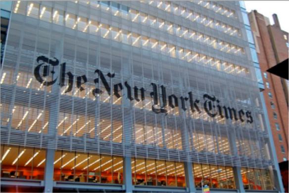 Sede corporativa del The New York Times.