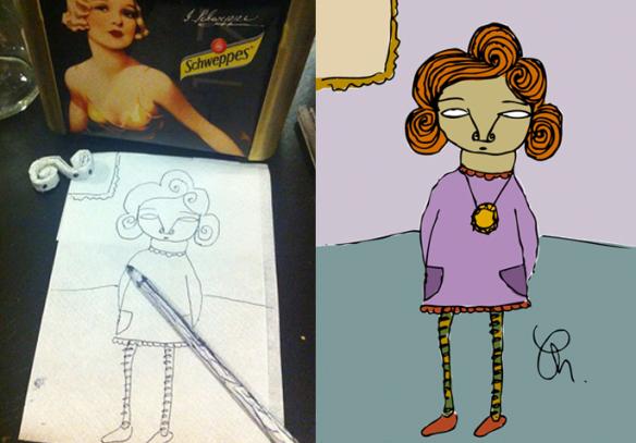 Dibujitos o ilustraciones