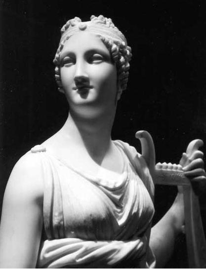 Terspicore, una de las nueve musas de la mitología griega, representa la danza. Autor: Antonio Canova.