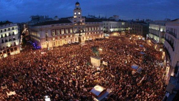 15M. La Vanguardia